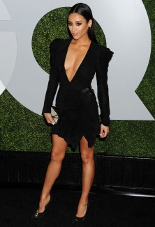 NO JUST JARED USAGE Arrivals at the 2014 GQ Men of the Year party. ***NO DAILY MAIL SALES*** Pictured: Shay Mitchell Ref: SPL905891 051214 Picture by: Splash News Splash News and Pictures Los Angeles: 310-821-2666 New York: 212-619-2666 London: 870-934-2666 photodesk@splashnews.com