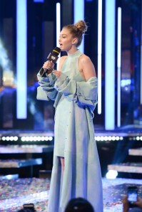 TORONTO, ON - JUNE 19: Gigi Hadid hosts the 2016 iHeartRADIO MuchMusic Video Awards at MuchMusic HQ on June 19, 2016 in Toronto, Canada. (Photo by George Pimentel/WireImage)